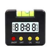 4x90 Degree Mini Digital Inclinometer With Magnetic With Blister Level Gauge 0.1 Degree Resolution