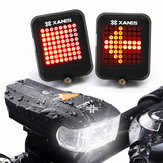 XANES 600LM German Standard Bike Front Light 64 LED Intelligent Brake Warning Bicycle Taillight Set