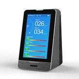 PM2.5 PM1.0 PM10 Temperatura Umidade Monitor de Qualidade do Ar de 4,3 Polegadas LED Display Detector de Gás HCHO TOVC Inteligente