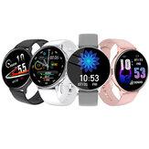 [połączenie bluetooth] Bakeey Q16 W pełni dotykowy pulsometr Monitor ciśnienia krwi Podwójny interfejs menu Prognoza pogody Inteligentny zegarek