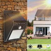30LED Solar Luz PIR Movimiento Sensor Seguridad al aire libre Muro de jardín Lámpara