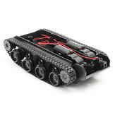 3V-7VHafifŞokAbsorbeAkıllıRobot Tank Şasi Araba DIY Kit 130 Motor ile