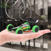 1/32 2.4G 6CH RC Car Mini Truck Car Met LED Light Indoor Toys