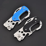 Multifunction Mini Pocket Folding KnIife Carabiner CS Go KnIives Hunting Military Weaponss Survival Tool For Man Women