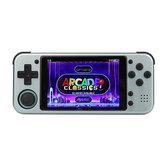 GKD ZPG PRO 64GB 3000 Juegos Consola de juegos portátil de 3,5 pulgadas HD IPS Pantalla Sistema de código abierto Soporte de reproductor de juegos portátil retro PS1 PSP N64 SFC MD CPS