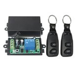 DC 12V 10A Relay 1CH Channel Wireless RF Remote Control Switch With 2 Transmitters