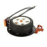 TFL 1/10 Aluminium-Montagevorrichtung für nicht zusammengebaute Reifenkleber Satz RC Car Vehicles Parts C1503-01