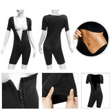 Womens Shapewear Full Body Sweat Shaper Slimming Fitness Gym Sport Sauna Suit Vest