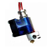 Geekcreit® Bec d'extrudeuse pour tête d'extrusion pour imprimante 3D en métal 0,3 mm en métal avec ventilateur