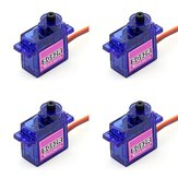 4 X SG92R Mini Micro Servo 9g 2.5kg For RC Airplane