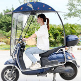Motorbike Scooter Sun Shade Rain Cover Electric Vehicle Umbrella Mobility Raincoat Poncho Dust Proof