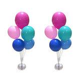 Plastic Balloon Display Pole Stand Column Sticks Base Wedding Party Decoration Decor Sticker