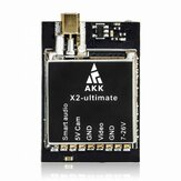 AKK X2-ultimate International 25mW / 200mW / 600mW / 1200mW 5.8GHz 37CH FPV Transmitter with ذكي صوت