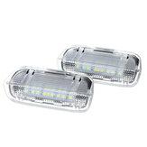 Aviso de porta de carro Bem-vindo Cortesia Luz LED Lâmpada Para VW Golf 5 6 7 Gti Mk5 Mk6 Mk7