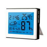 Digital LCD Wettertemperatur-Luftfeuchtigkeitssensor Meter Indoor Outdoor Hygrometer