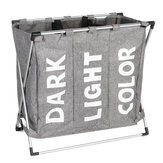 Foldable Laundry Basket Folding Dirty Clothes Bag Washing Bin Home Clothes Organizer with Handle
