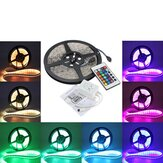 3X 5M 5050 RGB Waterdichte 300 LED Strip Licht 24 Key Controller DC12V
