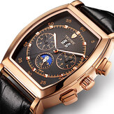 TEVISE 8383A Week Date Display Automatic Mechanical Watch Business Style Men Wrist Watch