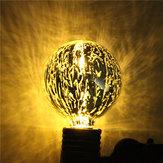 E27 G95 5W Storm Silvering Edison Vintage Retro Globe Bulb Warm White/White 85-265V
