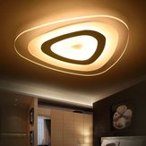48W Modern Ultrathin LED Flush Mount Ceiling Light 3 colores ajustables para la sala de estar