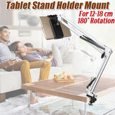 Flexibler 180 ° -Clip Handy-Tablet-Halter Lazy Bed Desk Bracket Mount Stands