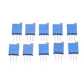 10pcs 3296W 20K ohm Trimpot Trimmer Potentiometer