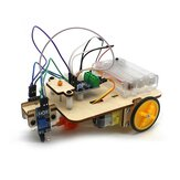 Smart Robot Truck Chassis Kit Steam Education Learning Circuito electrónico para Arduino DIY Juguete