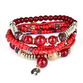 Bracelete Bohemian Beads Multilayer Retro Bracelet For Women