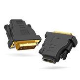 Adaptador DVI 24 + 1 a HDMI macho a hembra