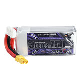 CODDAR 11.1V 750mAh 3S 90C High Discharge Lipo Battery XT30 fo rGEPRC GEP GEP-RL Cinewhoop