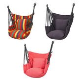 130x100cm Hammock Chair Hanging Seat Swing Chair Camping Travel Garden Max Load 250kg