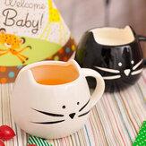 Twórczy kubek ceramiczny zwierzęcy kubek do kawy Kubek do mleka z wodą Kubek do pary Miłośnicy pary