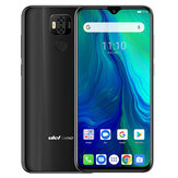 Ulefone Power 6 Global Version 6.3 polegadas FHD + NFC 6350mAh 16MP Câmera traseira dupla 4GB 64GB Helio P35 Octa core 4G Smartphone