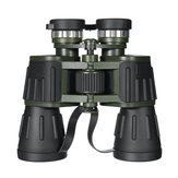 50X60 Outdoor Tactical Handheld Binocular HD Optic Day Night Vision Telescope campeggio Travel