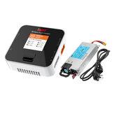 ISDT Q6 Nano BattGo 200W 8A Lipo Batteria Caricabatterie con alimentatore HP DC 12V 460W 38A