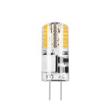 10PCS AC/DC12V 3W G4 SMD3014 Pure White No Flicker 48 LED Corn Bulb Chandelier Light