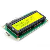 3Pcs IIC/I2C 1602 Yellow Green Backlight LCD Display Module Geekcreit for Arduino - products that work with official Arduino boards
