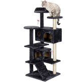 Cat Tree Tower Condo Furniture Scratch Post for Kittens Pet Bed