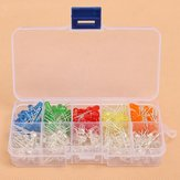 200pcs 5MM LED Diode Kit Mixed Color Red Green Yellow Blue Orange