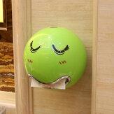 Honana Sevimli Gözler Çıkartmalar Taşınabilir Sevimli Dayanıklı Duvara Monte Banyo Kağıt Rulo Tutucu Tuvalet Doku Kutu