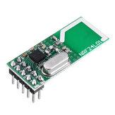 2 قطعة Geekcreit NRF24L01 2.4 جيجا هرتز وحدة الإرسال والاستقبال اللاسلكية مدمج 2.4 جيجا هرتز هوائي