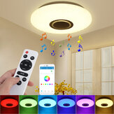 112LED Moderne Dimbare Full Color RGB LED WIFI Plafondlamp met APP Afstandsbediening