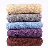Toalla de baño de algodón turco de toalla suave para el cuidado de la cara de 34 x 74 cm