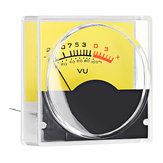 Pointer Meter Amplifier VU Table DB Table Level Meter Pressure Gauge with White LED Backlight