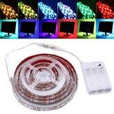 30/50/100/150 / 200cm dimmable rgb 5050 LED bande lumière usb tv éclairage de fond dc5v