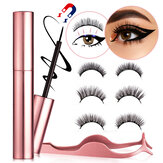 6Pcs Magnetic False Eyelash Set Lengthening Eyelash Acrylic Scorpion Eyelashes
