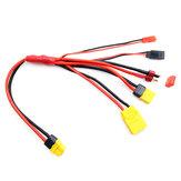 5 en 1 XT60 Plug Batería Cable de conexión de carga para ISDT Q6 Lite T6 Lite Q6 PULS Charger