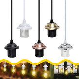 E26 / E27 Edison Vintage Retro Pendant lampada Base per luce a soffitto Holder presa di corrente Adattatore per lampadina AC110-250V