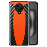 Bakeey for Xiaomi Poco F2 Pro Case Sports Car Design Carbon Fiber Leather Shockproof Protective Case