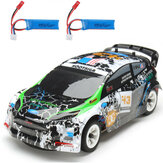 Wltoys K989 2 Μπαταρία 1/28 2.4G 4WD Brushed RC Car Alloy Chassis Vehicles RTR Model